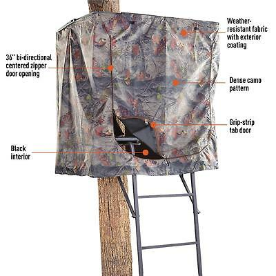 Tree Stand Blind Shelter Hideout Hunting Deer Game Camo
