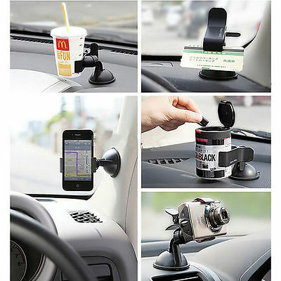 Car Windshield Suction Cup Phone GPS Mount Rotating Stand Holder For Iphone 5 6