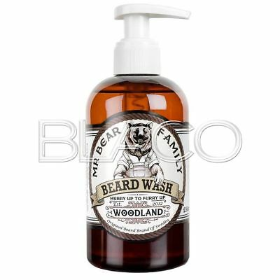 Mr Bear Family - Beard Wash Fragranza Woodland Shampoo Barba - 250Ml