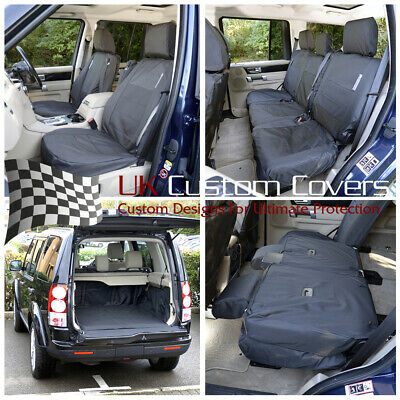 Land Rover Discovery 4 Tailored Boot Liner + Front Rear Seat Covers 022 107 157