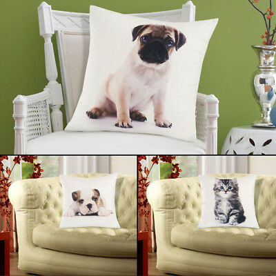 Luxuriously Soft Animal Cushion Cover 45x45cm Unfilled - All Designs