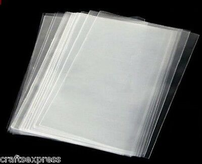 """4"""" x 6"""" Clear Cellophane Lollipop Bags - Quality Display Bags, Sweets, Cookie"""