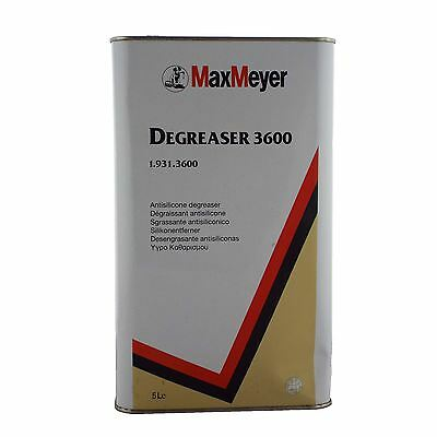 Max Meyer Anti Silicone Degreaser 1.931.3600 5ltr Paint Grease/Dirt Remover