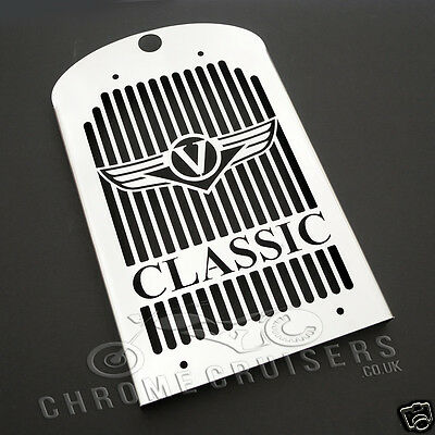 Kawasaki Vn1600 Classic Nomad New Stainless Steel Radiator Cover Guard Grill