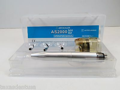 Dental Air Scaler Handpiece 4 Holes M4 With 3 Tips AS2000 FORZA4