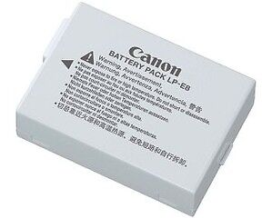 Canon LP-E8 Lithium-ion Rechargeable Battery Pack