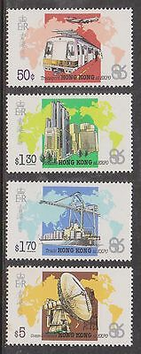 (HK-32) 1986 Hong Kong 4set World expo MUH
