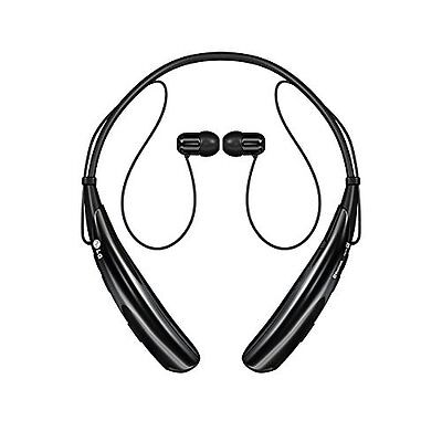 LG Electronics HBS 750 Tone Pro Bluetooth Stereo Headset Retail Packaging Black