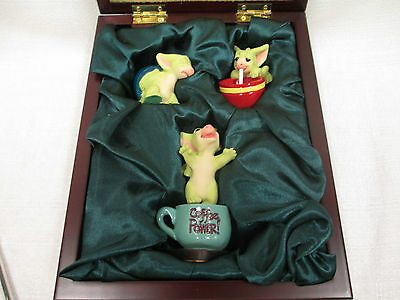Whimsical World Of Pocket Dragons The Coffee Connoisseurs Set Real Musgrave NIB