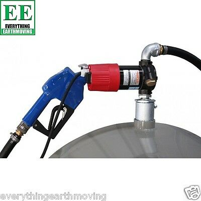 12 Volt, 40LPM Diesel Pump With Hose, Suction And Manual Nozzle