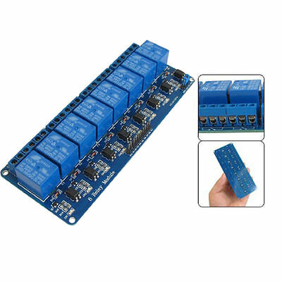 Kootek 8 Channel DC 5V Relay Module for Arduino Raspberry Pi DSP AVR PIC ARM BH