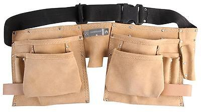 Duratool D02354 Tool Belt, Leather