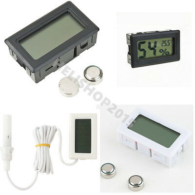 Mini Digital LCD Thermometer Hygrometer Humidity Temperature Meter Indoor NEW H