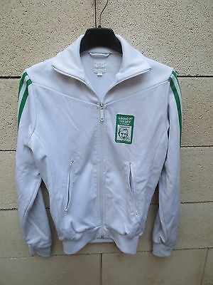 Veste ADIDAS girl femme  STAN SMITH SUPREME tennis collection 1970 jacket XXS