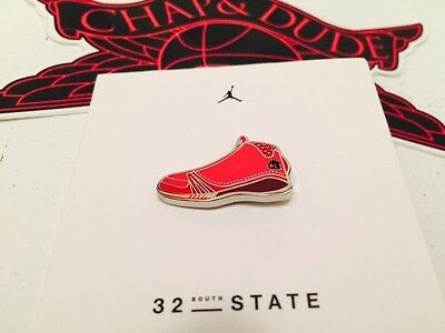 Jordan Chicago Only 32 South State Street Don C Pins XX3 Limited Edition OvO