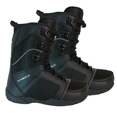 Symbolic Ultra-Lite Snowboard Boots 8 9 10 11 12 13 14 15 + burton dcal NEW $200