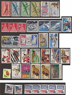 (ZB-205) 1941-2000 USA 37mix of US stamps