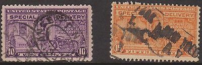 (ZB-219) 1917-21 USA 2set special delivery (D)