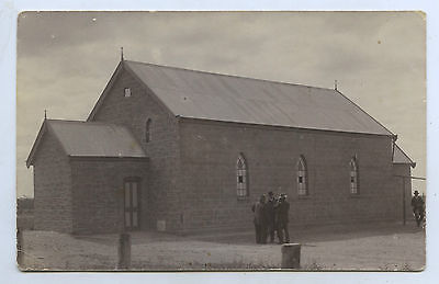 1916 Rp Npu Postcard New Evangelical Lutheran Church Sandleton Sth Australia D2