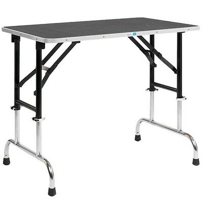 Master Equipment Adj Height Groom Table 30x18In TP698-30 Pet Grooming tables NEW