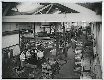 Vint. Photograph Coopers Box Assembly Dispatch Area Leabrook South Australia D25