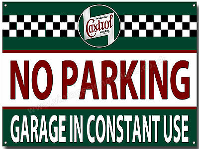 No Parking Garage In Constant Use Metal Sign,(A3) Size,garage Sign,access Sign