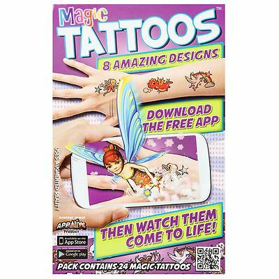 24 Magic Temporary Girls Tattoos Comes Alive with Free Apple Android App