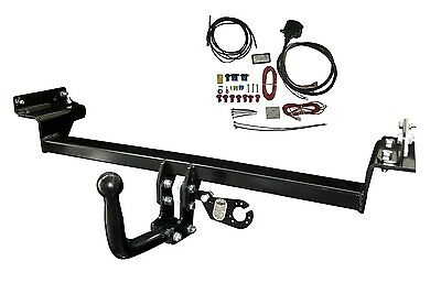 Swan Neck Towbar 13pin C2 Wiring Kit for VW CADDY III VAN 04 on Tow Bar 43062_H1