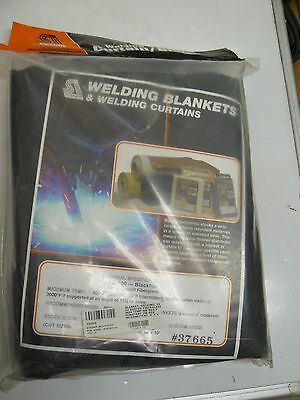 New Steiner Welding Blanket #37600 Blackflex, 23 Oz. Coated Fiberglass, 5X6