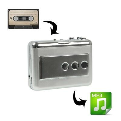 i-TECH Silver Tape to PC Super USB Cassette to MP3 Converter Capture Audio Musi