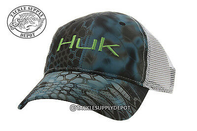 New lowrance fish finder hds electronics fishing hat for Huk fishing hats