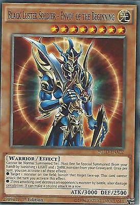 YU-GI-OH: BLACK LUSTER SOLDIER - ENVOY OF THE BEGINNING - YGLD-ENA02 - 1st ED
