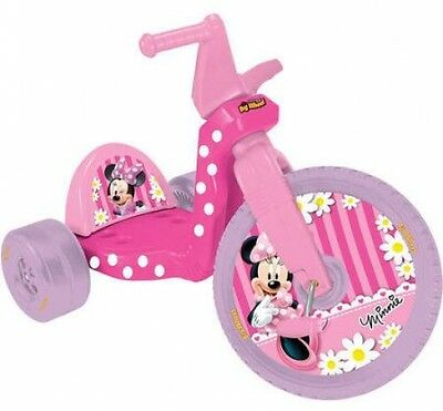 43423603ddd Minnie Mouse Big Wheel Tricycle Girls Low Riding Trike Disney Ride On Toy  PINK
