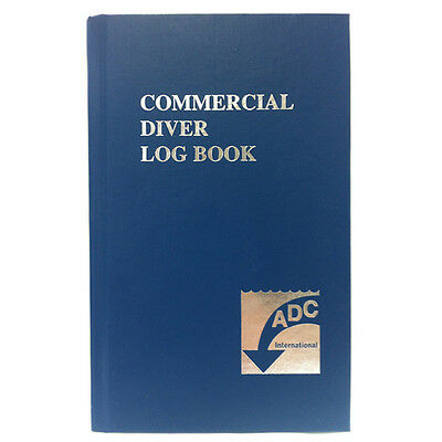 ADC International Commercial Diver Log Book