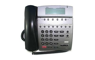 Lot of (5) Fully Refurbished NEC DTR 8D-2 Telephone (Black)