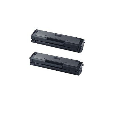 2pk MLT-D111S Toner Cartridge for Samsung 111S Xpress M2020W M2070FW M2070W