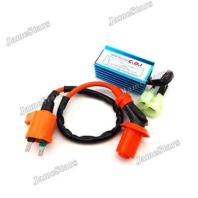Performance Ignition Coil AC CDI Chinese Pit Dirt Bike ATV Quad Moped Scooter