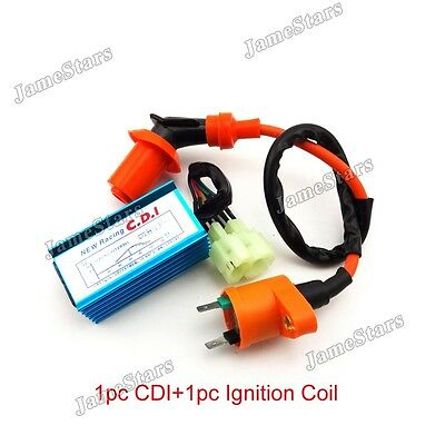 Racing Ignition Coil AC CDI For Chinese GY6 50cc 125cc 150cc Moped Scooter