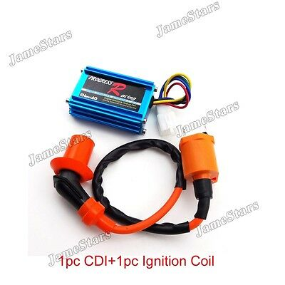 Racing Ignition Coil CDI For Honda Dio Elite SA50 SB50 Spree SYM DD50 Arnada