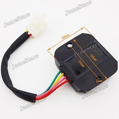 Voltage Regulator Rectifier For GY6 50cc 125cc 150cc Honda Scooter Motorcycle