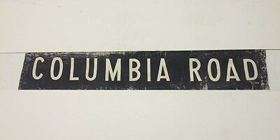 "Bournemouth Vintage Linen Bus Blind  1965 30""- Columbia Road"
