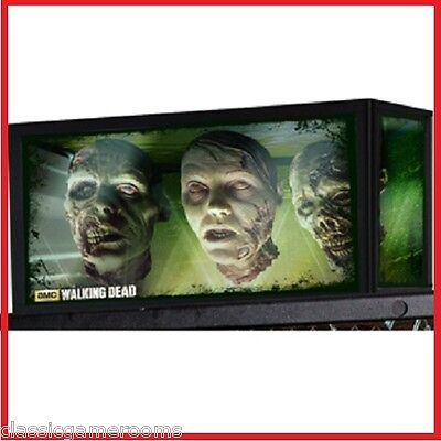 The Walking Dead Stern Pinball Machine Topper The Govenor's Fish Tank Walker