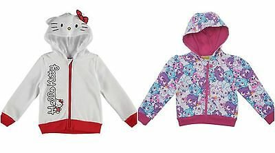 Girls Hello Kitty / Moshi Monsters Hoody Hoodie / Hooded Jacket ~Ages 2 3 4 5 6