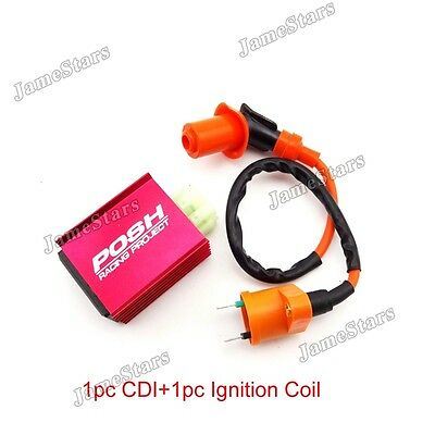Scooter Racing Ignition Coil CDI For Chinese Pit Dirt Bike ATV Quad Moped