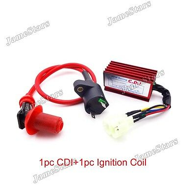 Racing Ignition Coil AC CDI Box GY6 50cc 125cc 150cc ATV Go Kart Moped Scooter
