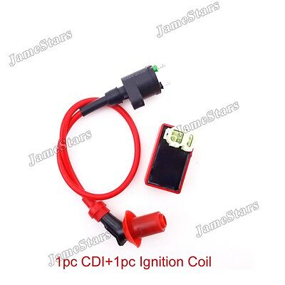 Scooter ATV Ignition Coil AC CDI Box For GY6 50cc 125cc 150cc Moped  Go Kart