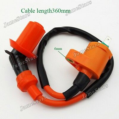 Ignition Coil For 139QMB 157QMJ 50cc 125cc 150cc Moped Scooter ATV Go Kart Buggy