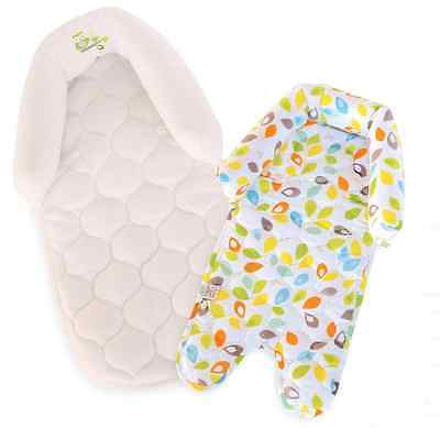 NEW Carter's Child Of Mine Leaf Duo Head Support, Multi-Color, Owls, Car Seats