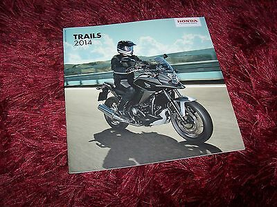 Catalogue /  Brochure HONDA Trails 2014 //