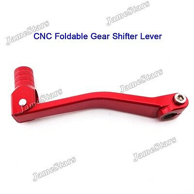 CNC Red Gear Shifter Lever Chinese Lifan YX Zongshen Engine Dirt Trail Pit Bike